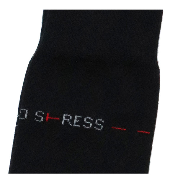 Socken NO STRESS  schwarz - X-Design