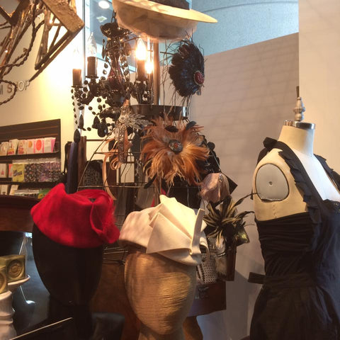 Fashion Institute Design Merchandising The Feathered Head FIDM Museum Shop
