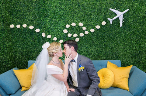 The Feathered Head Wedding Chicks blog Pan Am Experience Let's Jet Set Back to the 60's