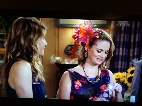 Fuller House Kimmy Gibbler Fascinator by The Feathered Head Andrea Barber