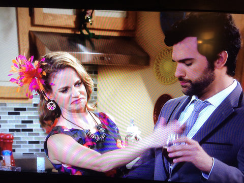 Fuller House Kimmy Gibbler Fascinator by The Feathered Head