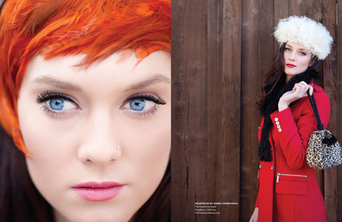 The Feathered Head KA Confidential Magazine Kaiser Air Andie Cohen Healy