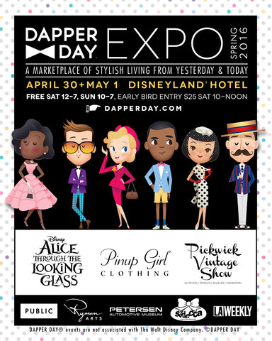 The Feathered Head at Disney Dapper Day Expo April 30 May 1