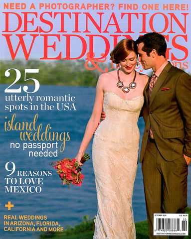 Destination Weddings Magazine The Feathered Head