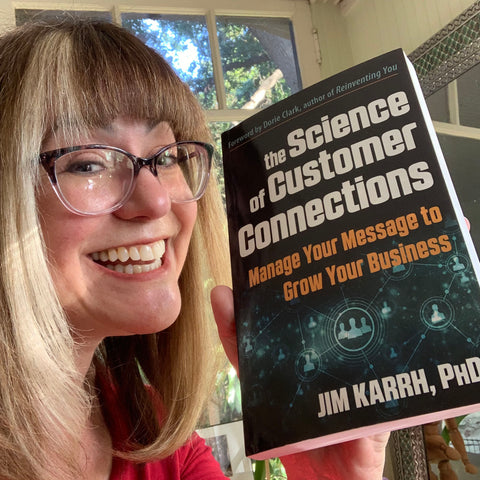 Andie Cohen Healy Science of Customer Connections Jim Karrh book
