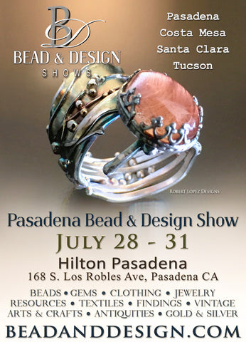 The Feathered Head at Pasadena Bead & Design Show