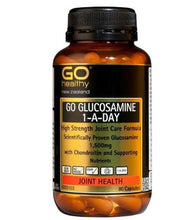 Load image into Gallery viewer, GO Healthy GO Glucosamine 1500mg 1-a-day Capsules