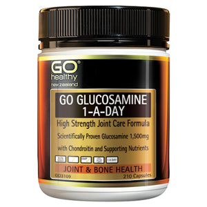 GO Healthy GO Glucosamine 1500mg 1-a-day Capsules