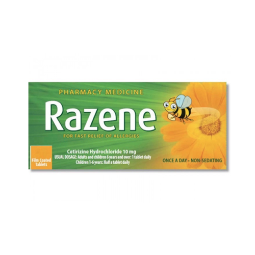 Razene 10mg Tablets