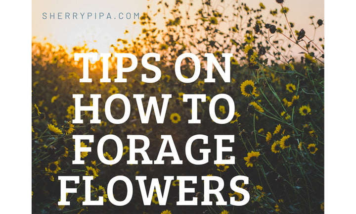 How to forage your own flowers