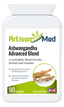 Load image into Gallery viewer, Artisan Med Ashwagandha Advanced Blend
