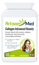 Load image into Gallery viewer, Artisan Med Collagen Advanced Beauty