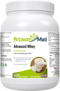 Artisan Med Whey Advanced - Vanilla Flavour