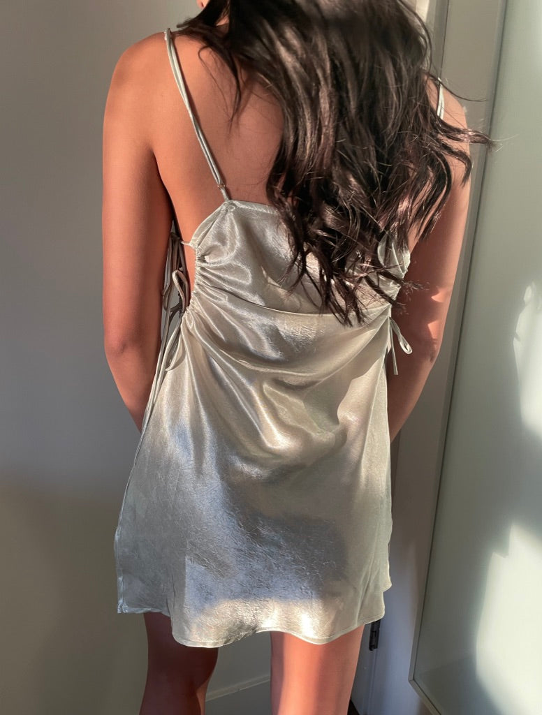 ATLAS silk dress