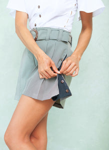 FLARE OUT SHORTS