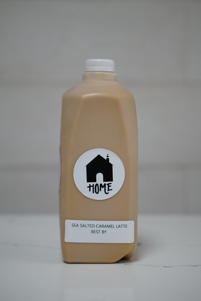 Sea Salted Caramel Latte (half gallon)