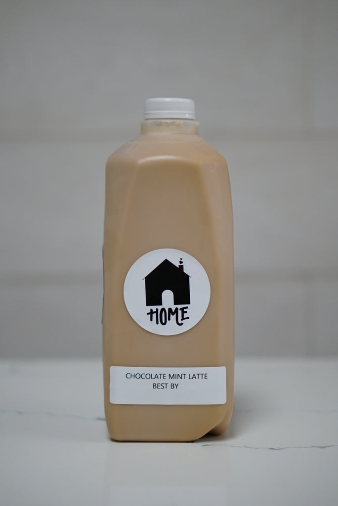 Chocolate Mint Latte (half gallon)