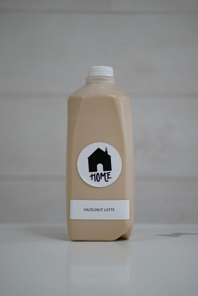 Hazelnut Latte (half gallon)