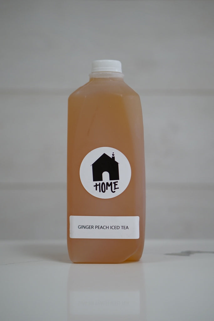 Ginger Peach Iced Tea (half gallon)