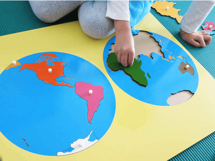 Geography and History For The Montessori