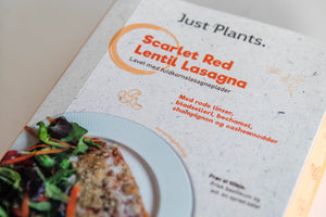 Scarlet Red Lentil Lasagna (Wholegrain) - 2 Portioner