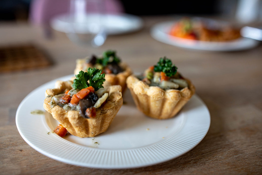 My Vegan Grandma's Homemade Tartlets - 2 Portioner