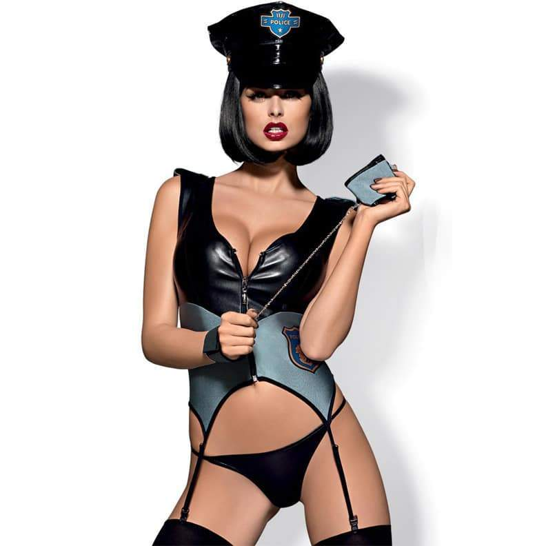 High quality gorgeous cop costume