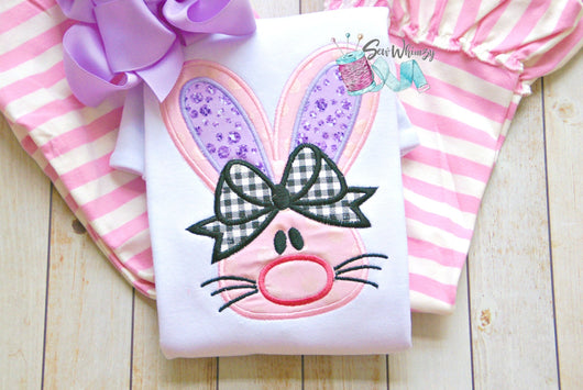 Easter Bunny Bow shirt