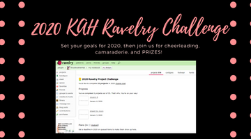 join us for the KAH 2020 Ravelry Challenge!