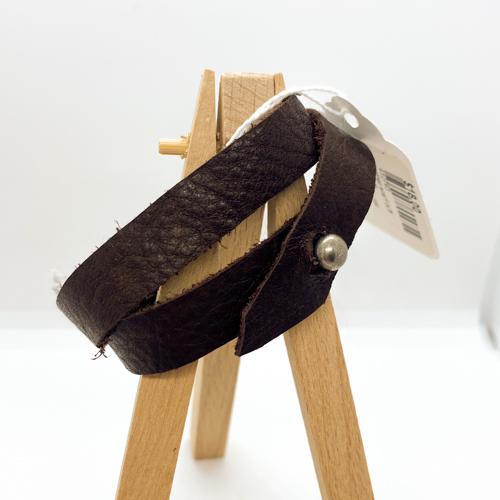 sue muth leather scarf cuffs