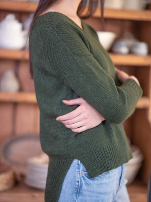weir sweater bundle, by berroco
