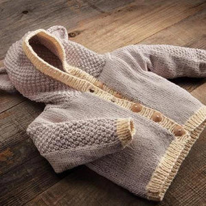 appalachian baby baby bear cardigan kit