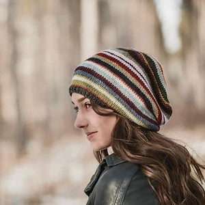 blue sky fibers 21 color slouch hat kit