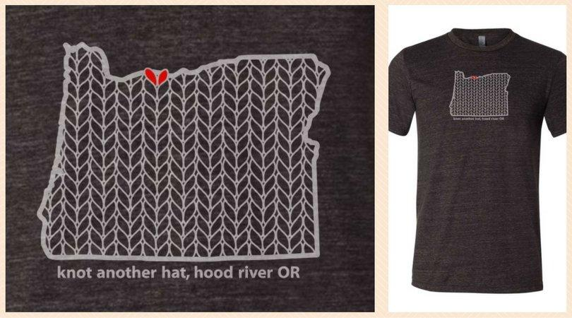 knot another hat oregon stitch t-shirt