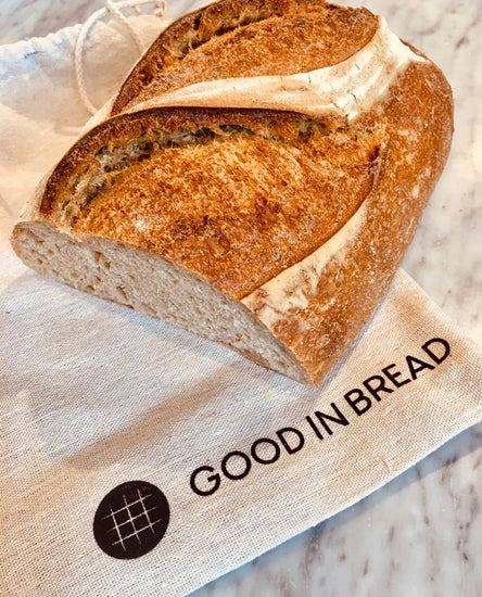 Good In Bread Linen Loaf Bag