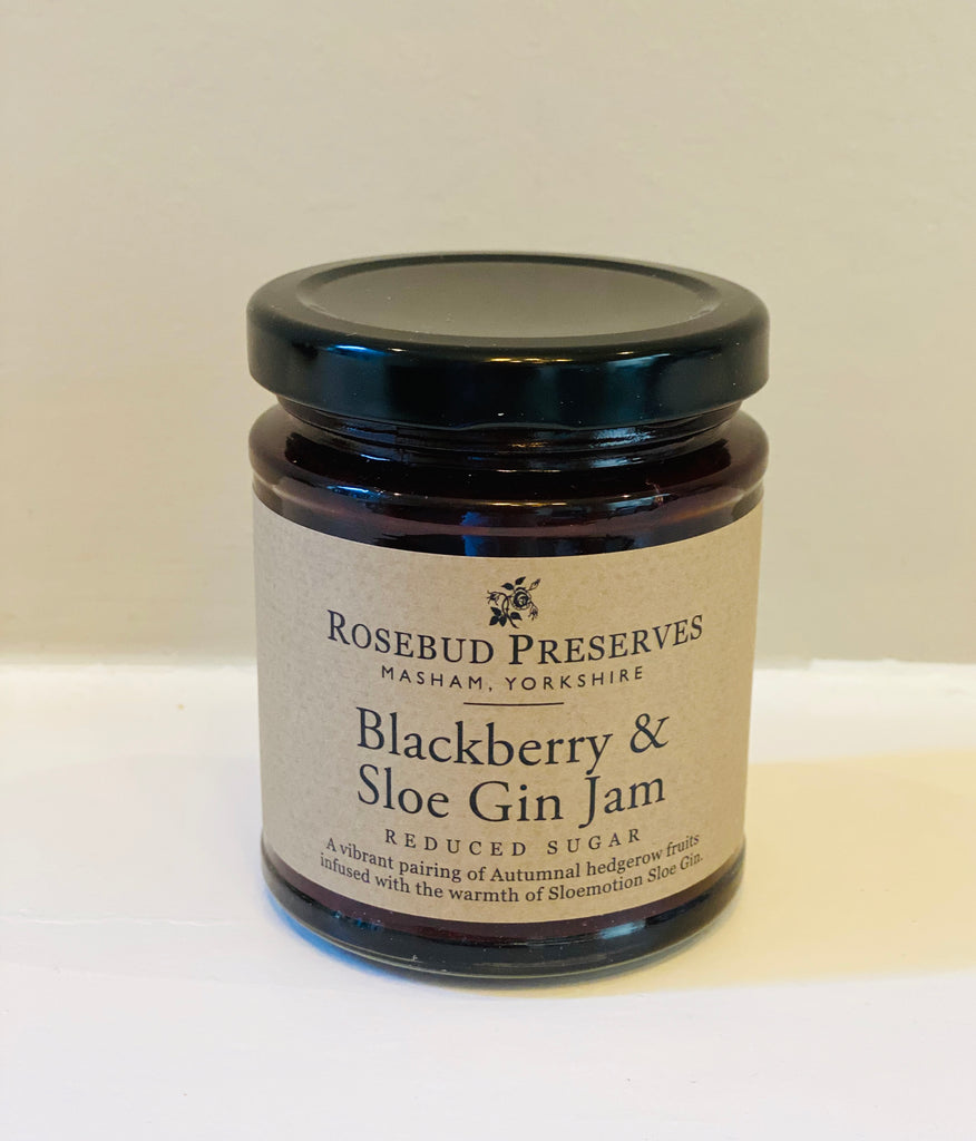 Blackberry & Sloe Gin Jam