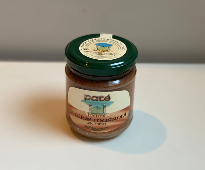 Organic Brown Olive Spread