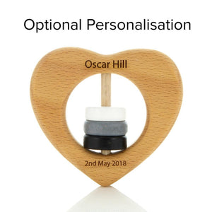 Personalised heart rattle