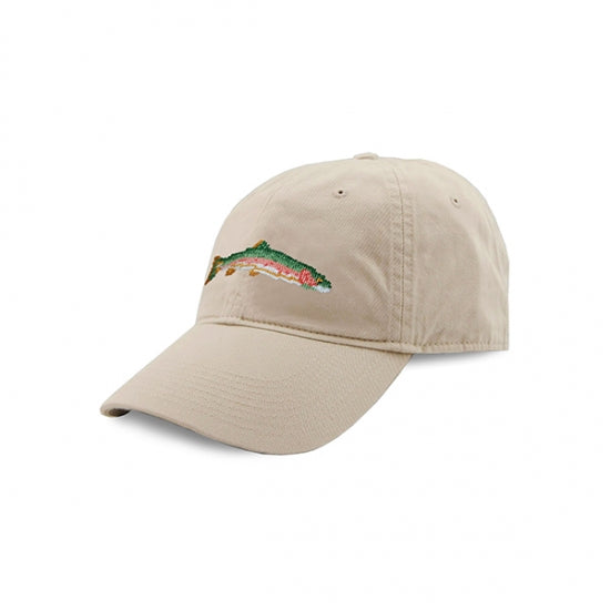 Big Trout Needlepoint Hat