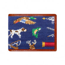 Load image into Gallery viewer, Southern Sportsman Needlepoint Bi-Fold Wallet