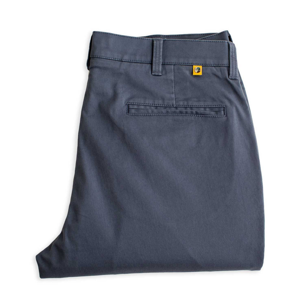 Gold School Chino Pant  - Lake Blue