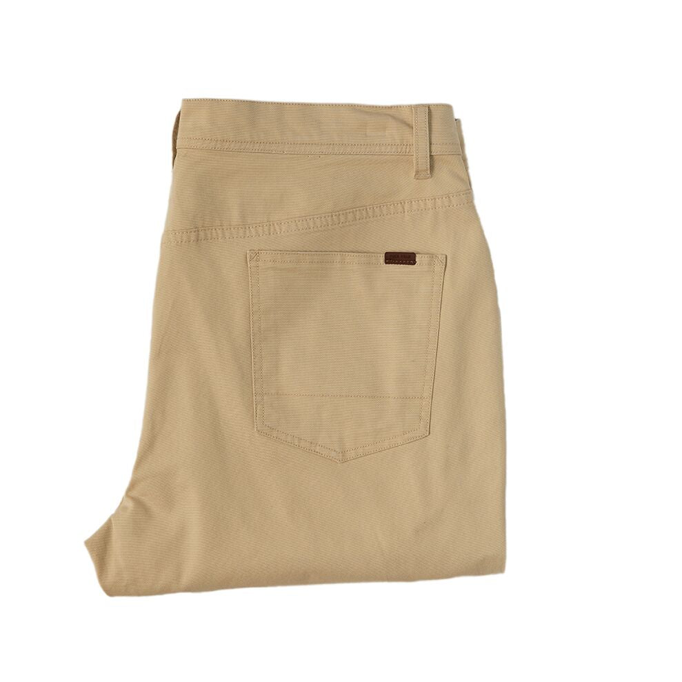 1865 Pocket Pinpoint Canvas Chino - Sand