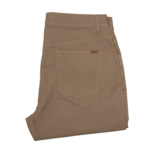 1865 Pocket Pinpoint Canvas Chino - Field Green
