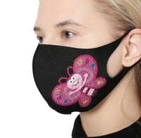 Adult Size Diamond Painting Face Mask