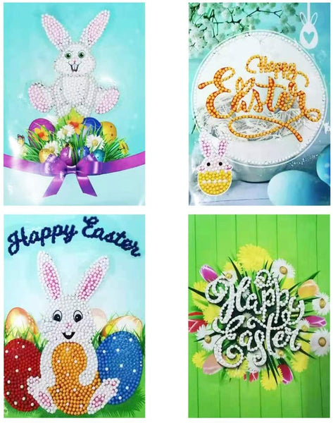 Diamond Painting Easter Cards