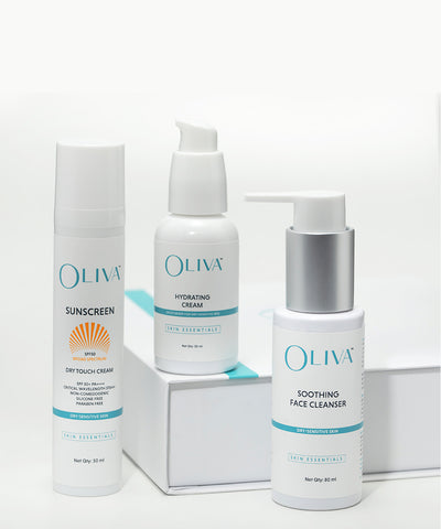 Oliva Skin Essential Kit - Dry / Sensitive Skin