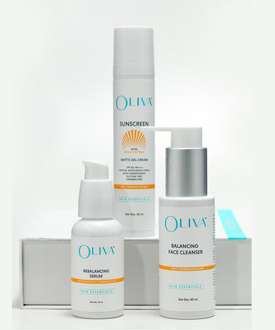 Oliva Skin Essential Kit - Oily / Combination Skin