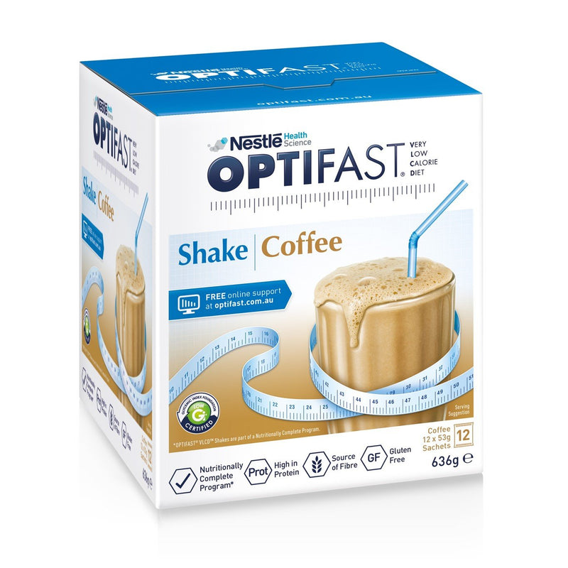 OPTIFAST® weightloss milkshake (Coffee) (12 x 53g)