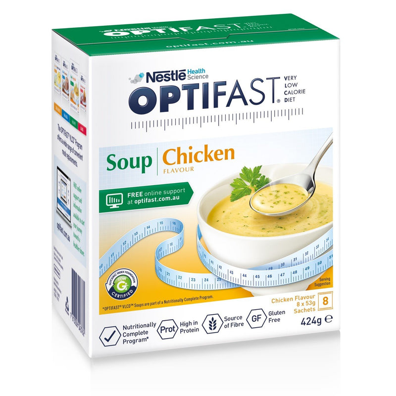 OPTIFAST® weightloss Soup (Chicken) (8 x 53g)