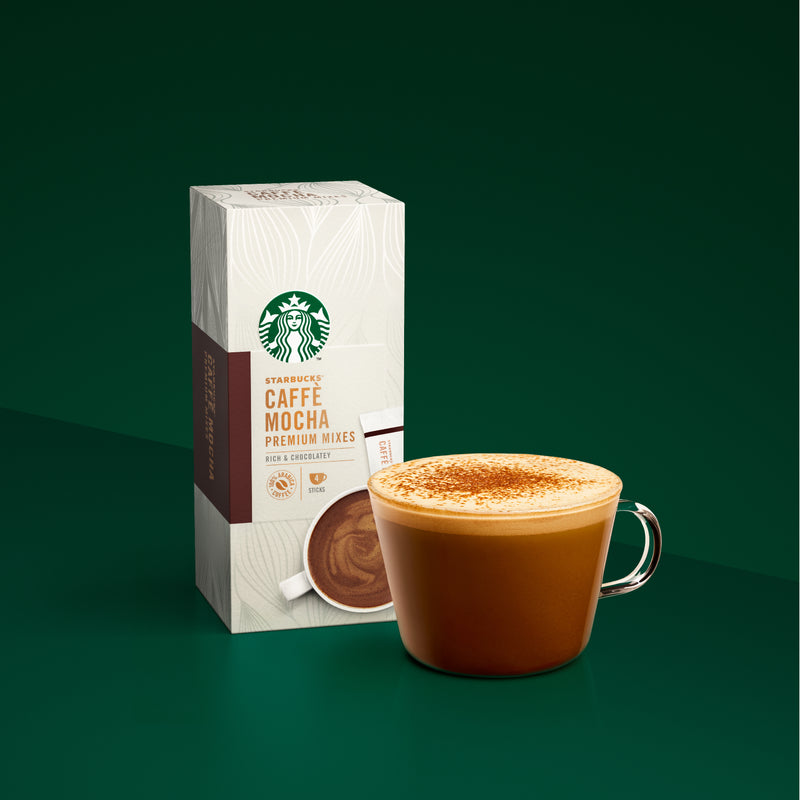 STARBUCKS® Mocha Premium Coffee Mix 4's (Best before date: 18 Aug 2021)